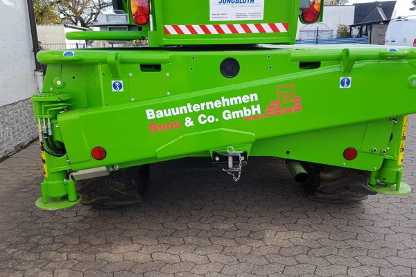 Roos & Co. GmbH Beschriftung