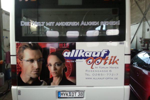 martini werbung bus aufkleber